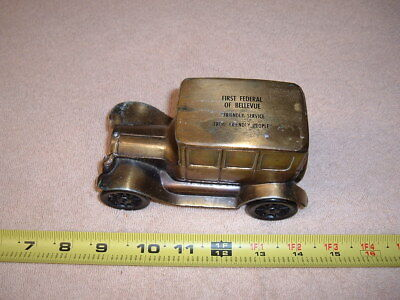 Metal BANK of a 1926 FORD ANTIQUE CAR