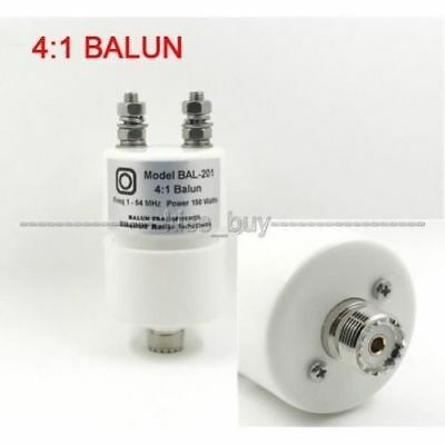 4:1 BALUN Withstand power 150W SSB, PEP 250W for Outdoor radio and QRP (S190)