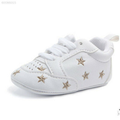 A5DF Comfortable Sports Soft Bottom Toddlers Shoes Prewalker Newborn Baby Colorf