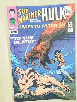 Tales to Astonish #80 (Vol 1 1966)