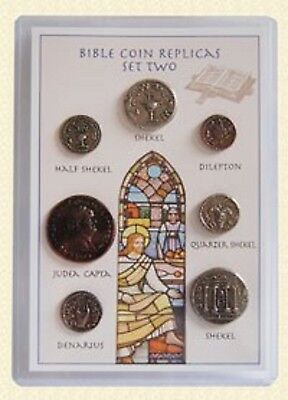 Historical Museum Coins Of The Bible Set-2