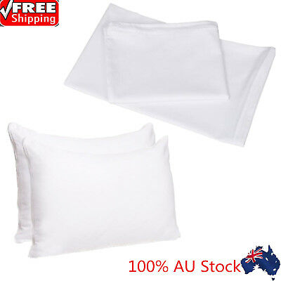 Waterproof Pillow Protector Zipper Opening Anti Allergy Pillow Protector AU