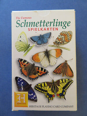 The Famous Schmetterlinge of the World Set 52 Spielkarten + Joker ( HPCC )