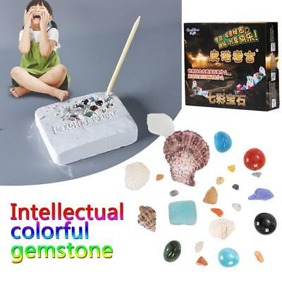 Scientific Experiment Archeology Colorful Gems Intelligence Educational Toys