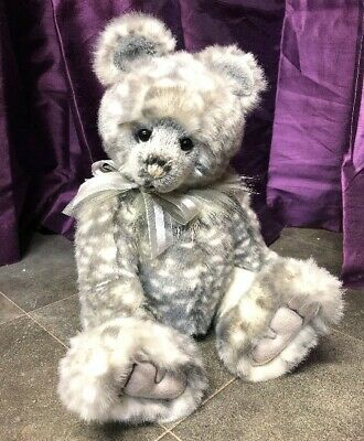 Manufactured Grizwald ~ Stunning Plush Bear By Charlie Bears ~ Such A Sweet Face!! Artist
