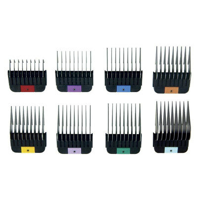 Wahl Competition Series Stainless Steel Cutting Guides Set of 8 Combs from 3mm t