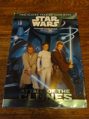 Star Wars Trading Card Board Game Attack Of The Clones Complete