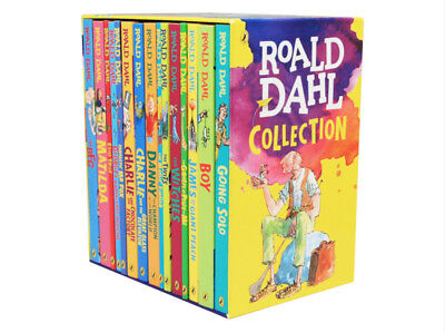 Roald Dahl Box Set Collection x 15 New Books! Free post! Best Gift!