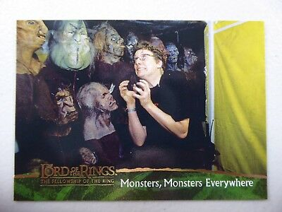 TOPPS Card : LOTR The Fellowship Of The Ring  #87 MONSTERS, MONSTERS EVERYWHERE