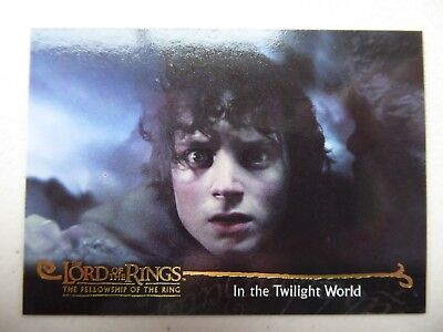 TOPPS Card : LOTR The Fellowship Of The Ring  #149 IN THE TWILIGHT WORLD