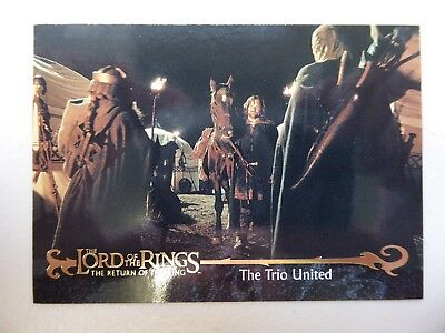 TOPPS Card : LOTR The Return Of The King  #45 THE TRIO UNITED