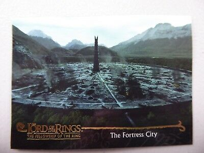 TOPPS Card : LOTR The Fellowship Of The Ring  #146 THE FORTRESS CITY