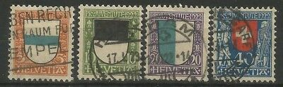 "Switzerland,"" Pro Juventute"",Mi:117-178,used"