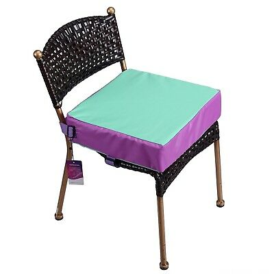 Toddler Booster Seat for Dining Double Straps Washable Portable Thick Chair I...