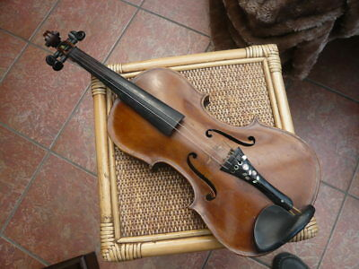 Genuine Antique Old Violin For Restoration Italian Gasparo Da Salo Brescia 1570