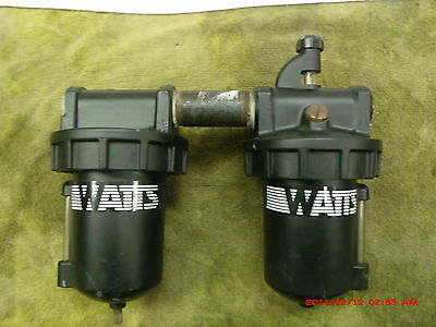 Watts Air Pneumatic filter and Lubricator L606 and F602 combo used great shape