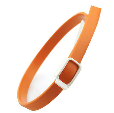 Flea and Tick Collar for Pet Dogs Cats - 3 Month Protection & Prevention Orange