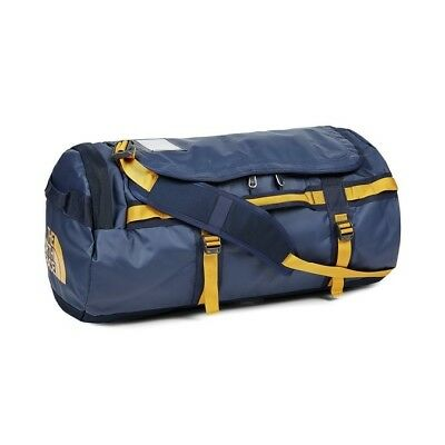 North Face Unisex Base Camp Duffel Backpack MEDIUM in RARE Navy Blue - BRAND NEW