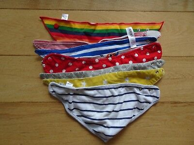 baby dribble bibs bundle from Blulu and Nutmeg and other brands