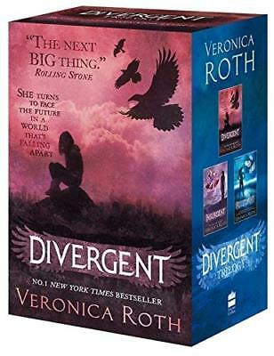 Divergent Series Boxed Set (books 1-3) by Veronica Roth New Paperback Book