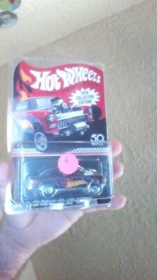 hotwheel  kmart 55 chevy bel air gasser  mail in read ad check out pic b
