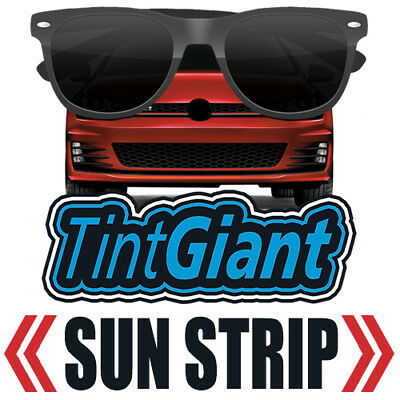 Tintgiant Precut Sun Strip Window Tint For Ford F-450 Crew 11-12