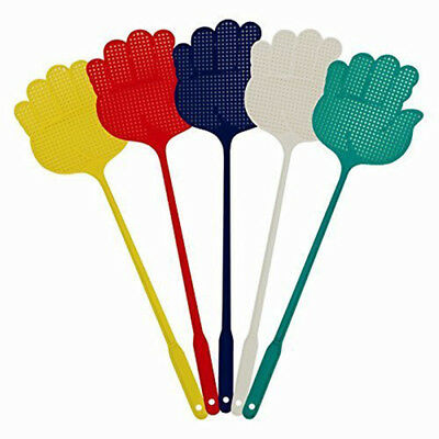 5x Fly Swatter Bug Mosquito Insect Wasps Killer Catcher Swat Zapper
