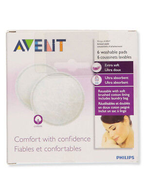 Avent 6-Pack Washable Day Pads