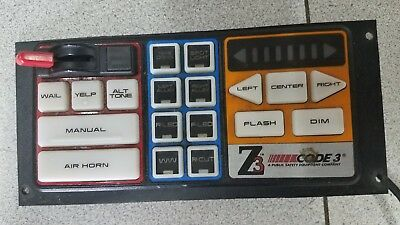 Code 3 Z3 siren switch controller USED NO RESERVE !