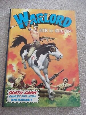 Warlord Book for Boys Annual 1984 Very Good Condition