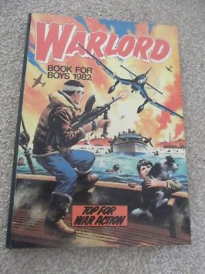 Warlord Book for Boys Annual 1982 Very Good Condition