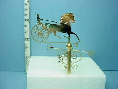 Miniature Trotter Weathervane #1911-100 Clare-Bell Brass 1/12th Scale