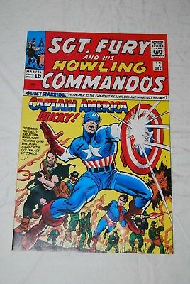 Sgt. Fury and his Howling Commandos #13 Reprint Captain America