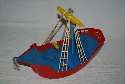 Vintage Ideal Pirate Ship Captain Hook Peter Pan