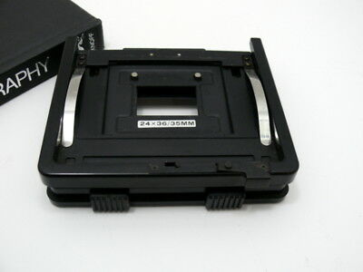 Phillips PCS 130 enlarger negative carrier with 35mm mask.
