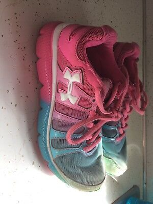 Girls Under Armor Shoes Size 1