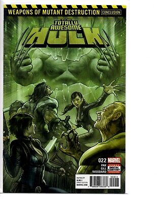 Totally Awesome Hulk 22 1St Print App Weapon H Marvel Comics Nm