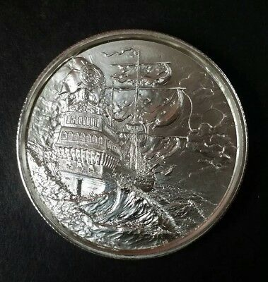 2 oz. 999 Silver Art Round Privateer Series First - The Storm / No Prey No Pay