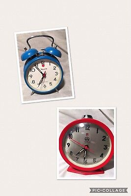 2 X Collectable Vintage Clocks made in China, Treasure - Xisen