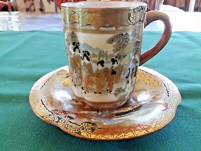 Antique JAPANESE Cup and Saucer