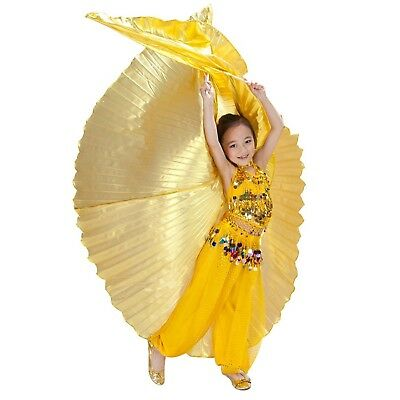 Hanerdun Children Egypt Isis Wings Belly Dance Costume Full Isis Wings with S...