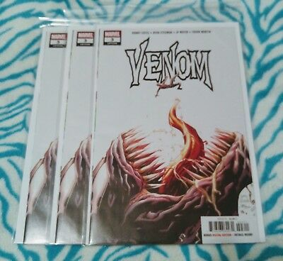 Venom #3 1st Appearance Of Knull Symbiote Marvel 2018 Cates Stegman