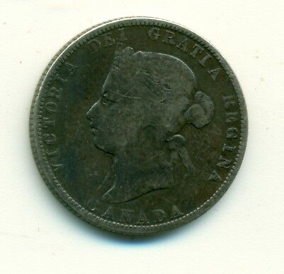 Canada 1885 25 cents G6
