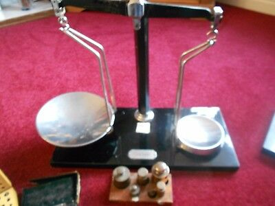 VINTAGE W & T AVERY LTD BIRMINGHAM BALANCE SCALE BRASS WEIGHTS and some spares