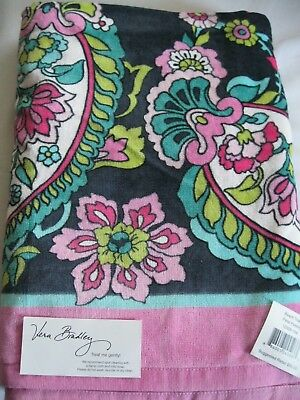 Vera Bradley PETAL PAISLEY Beach BATH Pool TOWEL 4 TOTE Backpack PURSE Bag  NWT