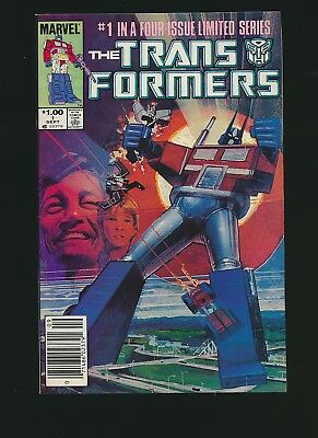 The Transformers #1, 9.0/9.2, Rare Canadian Variant
