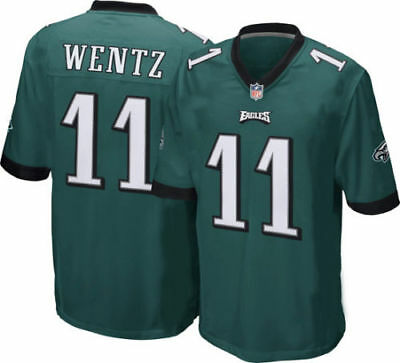 Philadelphia Eagles Carson Wentz 11 NFL Player Jersey