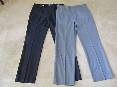 Lot, 2 mens size 36x34 dress pants, Kenneth Cole, Perry Ellis