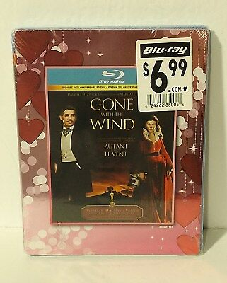 Gone With the Wind (Blu-ray Disc, 2013, Canadian) NEW & FACTORY SEALED
