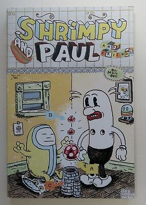 SHRIMPY and PAUL Marc Bell 2003 HIGHWATER BOOKS Graphic Novel EXCLAIM! mag